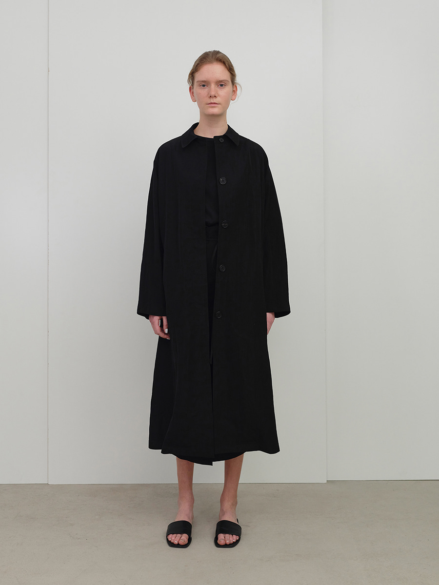 (REFURB) summer mac coat (black)